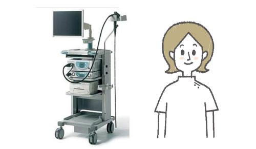 経鼻内視鏡(鼻から入れる内視鏡)